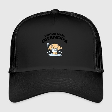Stolt Ny Bedstefar CUSTOMIZE ADD DATE ÅR - Trucker Cap