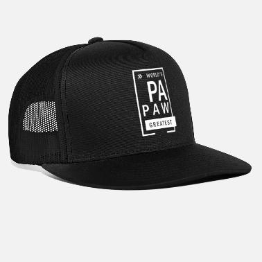 Papaw Papaw Greatest - Trucker cap