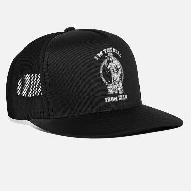 The Smiths I'm The Real Iron Man Blacksmith - Trucker Cap