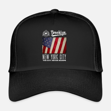 Brooklyn Nueva York · Brooklyn - Gorra trucker