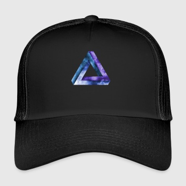 triangle infini tribar triangle penrose - Trucker Cap