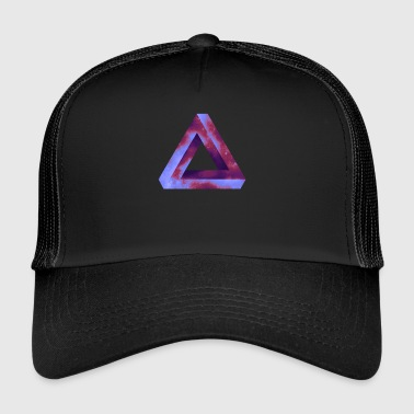triangle d'illusion d'optique - Trucker Cap