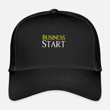 Start Start Up Business Start - Trucker Cap