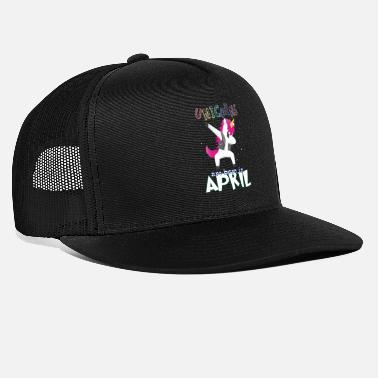 Born In Born Unicorns-Born April - Trucker Cap