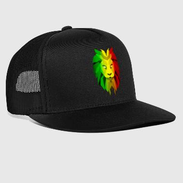 Rasta Lion - Trucker Cap