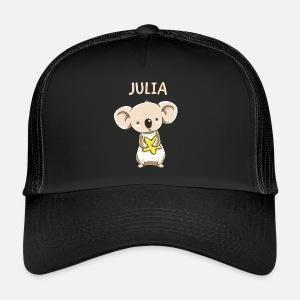 Koala Lustig Kind Julia Geschenk Geburtstag Kopie Stoffbeutel
