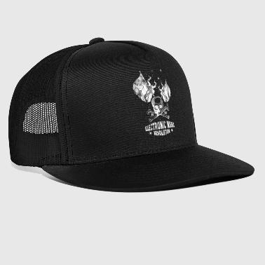 House Music ☆ Electronic Music Revolution - Trucker Cap