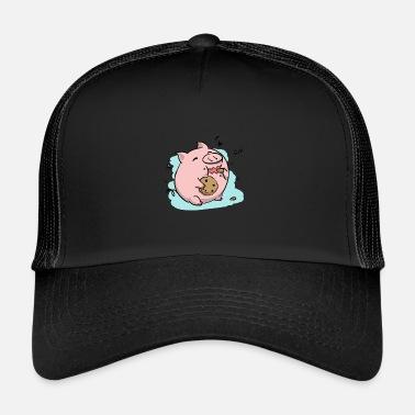 Cerdo Cerdo de galletas - Gorra trucker 51a17a69753