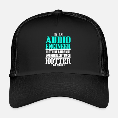 Audio AUDIO ENGINEER - Trucker Cap