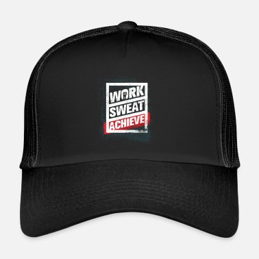 Workout Fitness Workout Lifestyle Gym - Trucker Cap