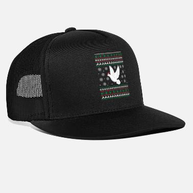 Claus Christmas Funny Pigeon Bird Lover Holiday Gift - Trucker Cap