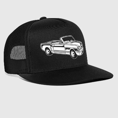 Convertible / Muscle Car 02_weiß - Trucker Cap