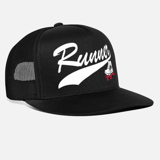 Runner Caps & Hats - Runner - Trucker Cap black/black