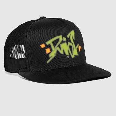 riot graffiti - Trucker Cap