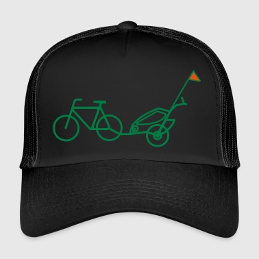 Trailer Bike trailer - Trucker Cap