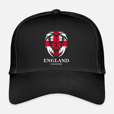 1966 ENGLAND LIONHEAD WITH ST. GEORGE CROSS  - Trucker Cap