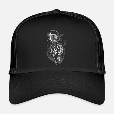 Puste Pokerface II - Czapka trucker