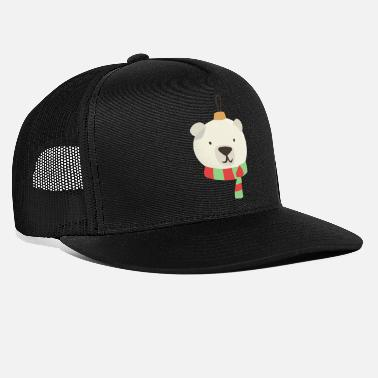 Polar Bear Christmas - Christmas ball - Trucker Cap