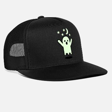 Glow In The Dark Glow in the dark ghost - Trucker Cap