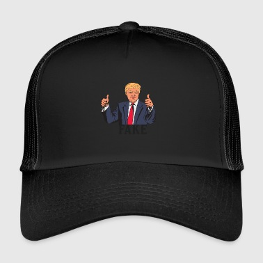 TRUMP FAKE - Trucker Cap
