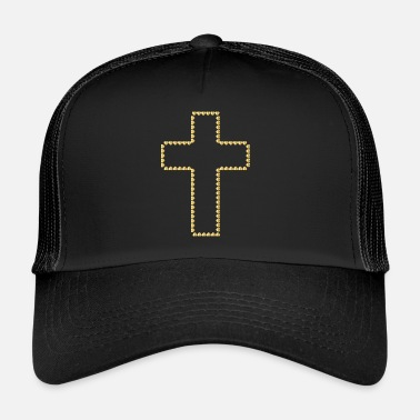 Croix Christianisme Collection christianisme - Casquette trucker