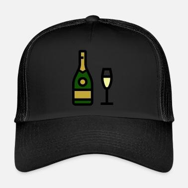 Ordina online Cappelli   Berretti con tema Bicchiere Di Champagne ... 7392f4015a33