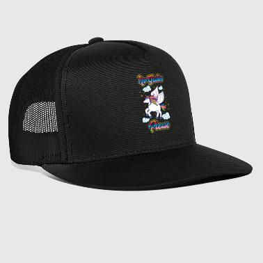 Nie gluten proszę - Unicorn Nutrition Health - Trucker Cap
