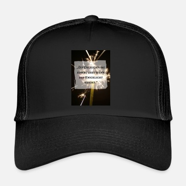 Enlightened Enlightenment - Trucker Cap