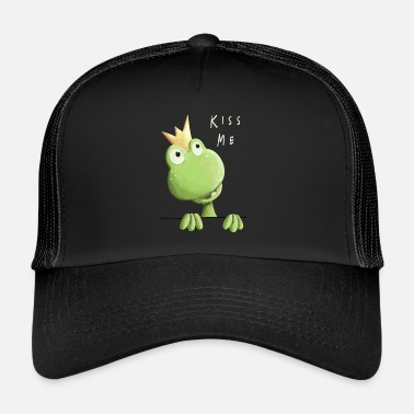Grenouille Embrasse-moi grenouille - Prince grenouille - Comic - Trucker Cap