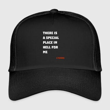 L'enfer diable l'enfer - Trucker Cap