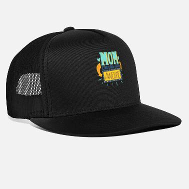 Awesome Mom thinks Iam awesome- Mama denkt ich bin geil - Trucker Cap
