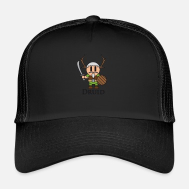 Druid Druid from RPGs like Dungeons & Dragons - Trucker Cap