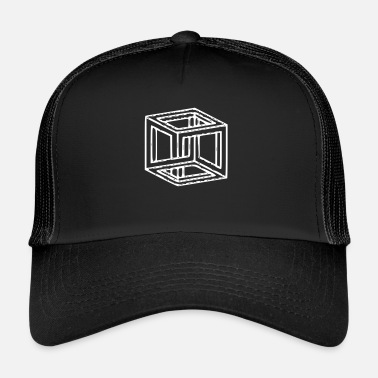 Hallucination Illusion d'optique hallucination - Trucker Cap