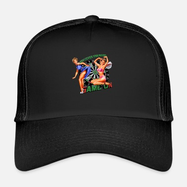 Pin up whatever you want - Trucker Cap