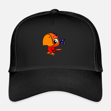 Corsair Parrot Pirate Corsair - Trucker Cap