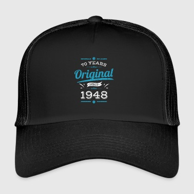 70th Birthday / Years: Original since 1948 Gift - Trucker Cap