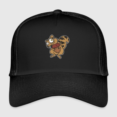Super lustiges Eichhörnchen - lustiges Tier - Trucker Cap