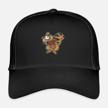 Animali Divertenti Scoiattolo super divertente - animale divertente - Trucker Cap