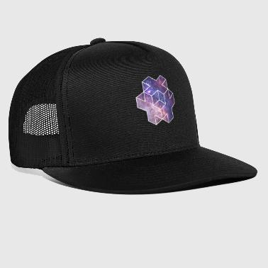 Galaxy Plus Dice Star Astro Space Nasa - Gorra de camionero