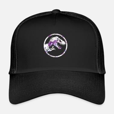 360f5829dfe Jurassic Dinosaur floral - Trucker Cap
