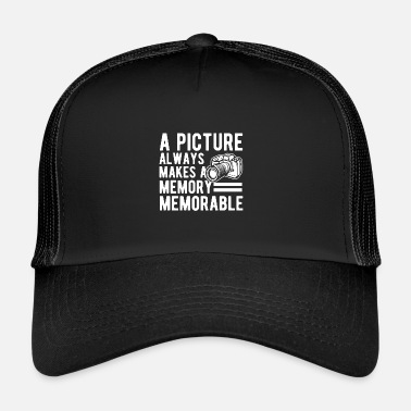 Picture Picture Memorable Photography Verjaardagscadeau - Trucker Cap