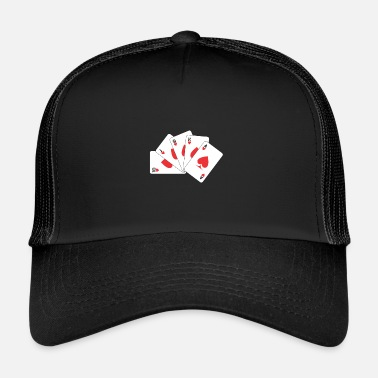 Playing playing card - Trucker Cap
