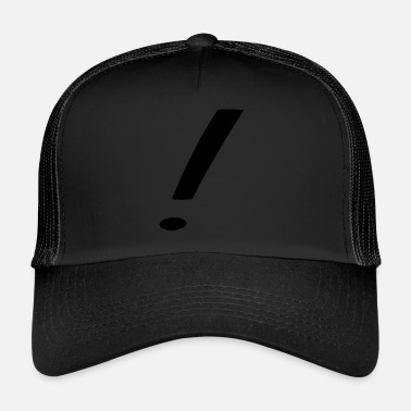 Exclamation-mark exclamation mark - Trucker Cap