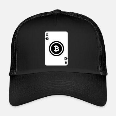 Cards Bitcoin Speel Card Game Card - Trucker Cap