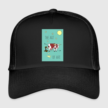 the ART OF ART - Trucker Cap