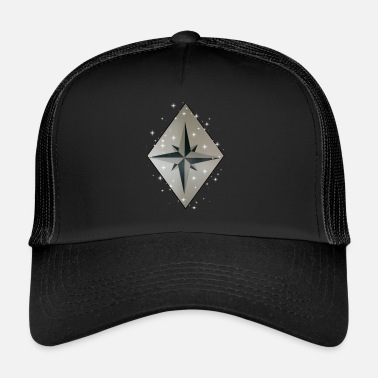 Wind Wind Rose - Trucker Cap