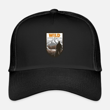 Outdoor Wilderness Outdoor Adventure - Trucker Cap