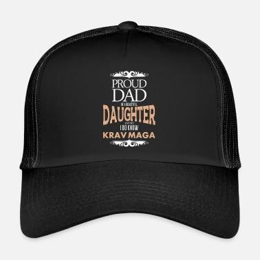 Krav Maga  39 s father daughter - Trucker Cap fedae126c82