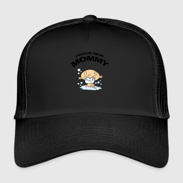 Mommy Proud New Mommy (PERSONNALISER ADD DATE ANNÉE) - Trucker Cap