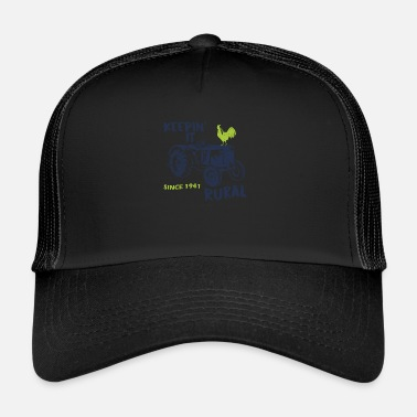 Trattore Funny Naughty Birthday Gift Man & Woman - Trucker Cap
